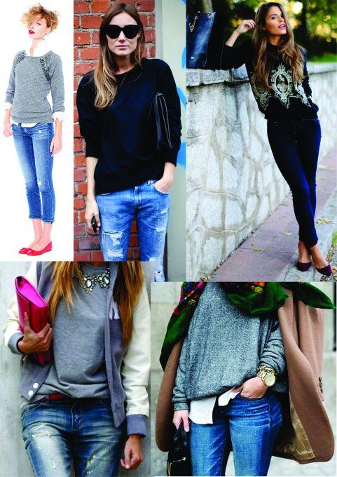 Jeans e Moletom
